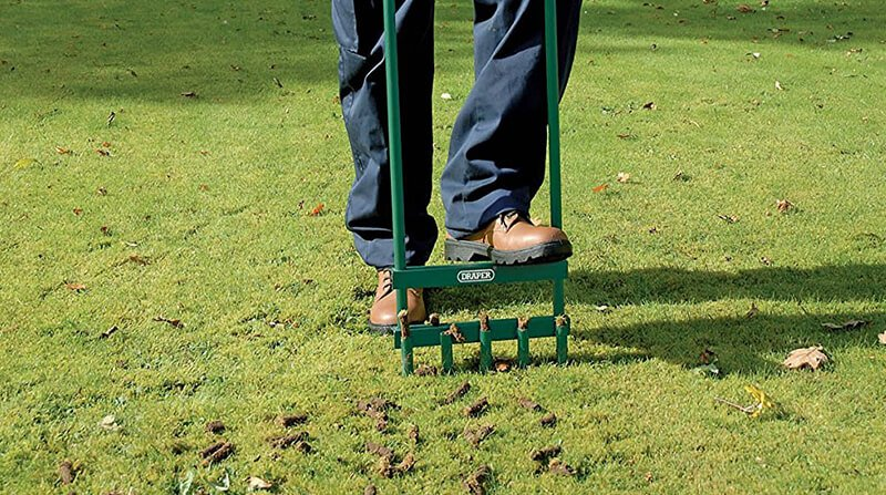 autumn is the perfect time for hollow tine aeration
