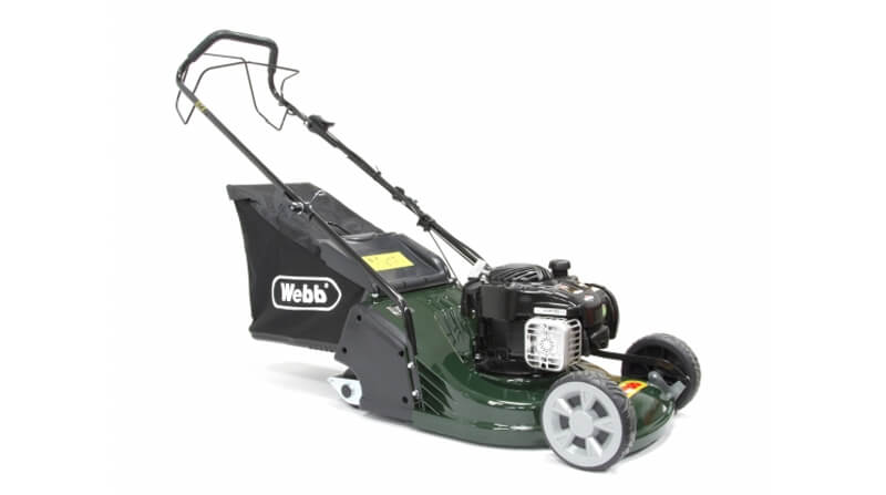a very good petrol lawn mower for leaving stripes
