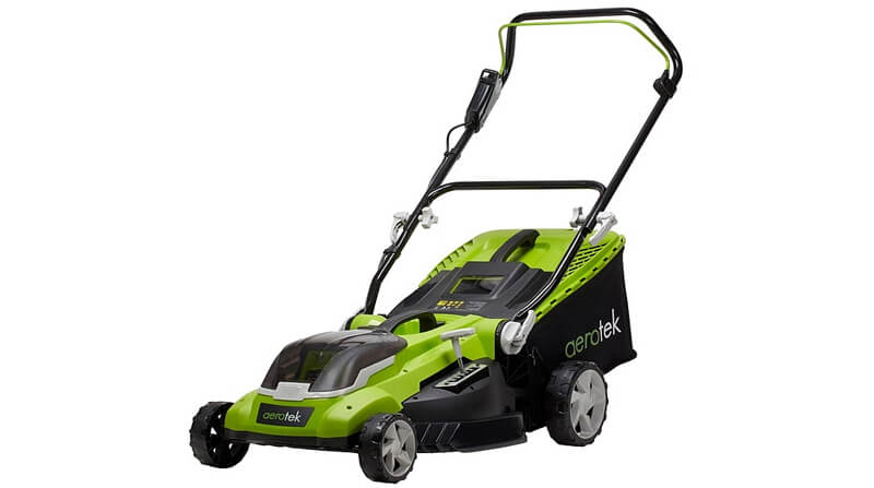aerotek cordless lawn mower: the best cordless lawn mower for most people