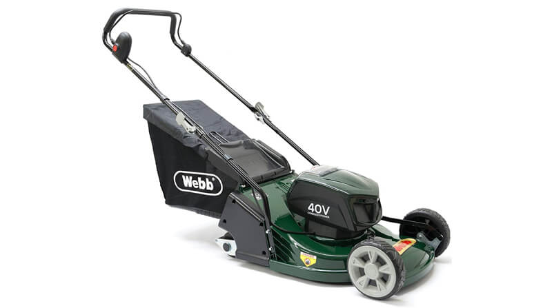 best battery lawn mower for striping