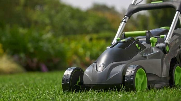 cordless lawn mower