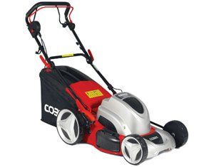 electric mower for large lawns