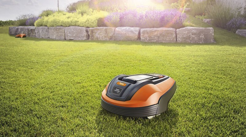 flymo robotic lawn mower