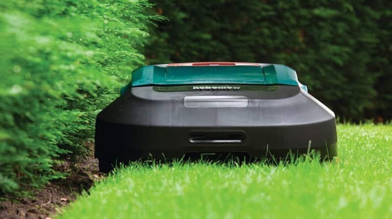 why choose a robot lawn mower