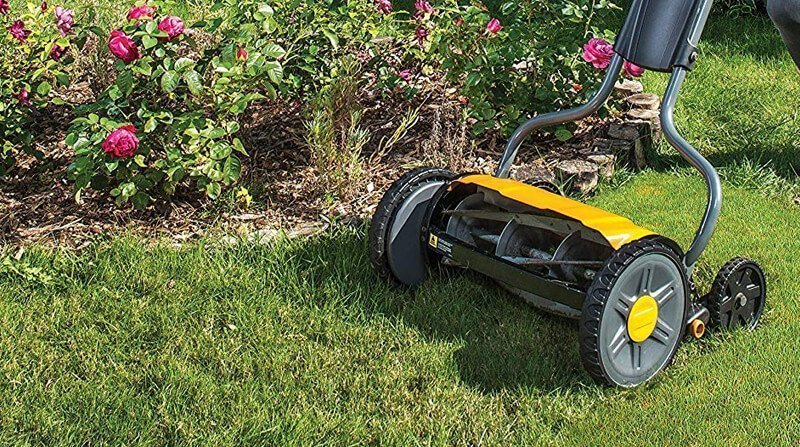 best hand push lawn mower