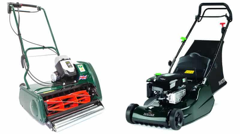 rotary vs cylinder lawn mowers