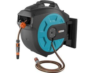 gardena auto-rewind hose