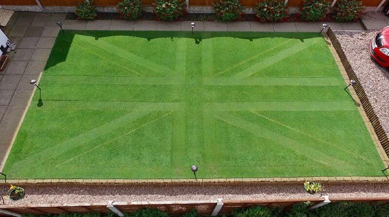 union jack lawn