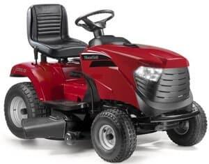 mulching lawn tractor