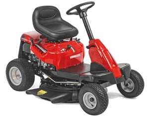 side discharge ride on mower