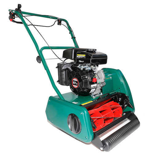 Allett Classic 14L & 17L Petrol Lawn Mower For Ornamental Lawns